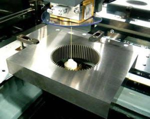 Wire EDM cutting for Die Mould